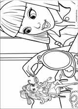 Barbie Presents: Thumbelina coloring page (015)