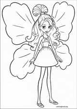Barbie Presents: Thumbelina coloring page (019)