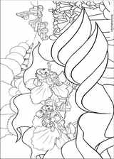 Barbie Presents: Thumbelina coloring page (021)