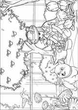 Barbie Presents: Thumbelina coloring page (022)