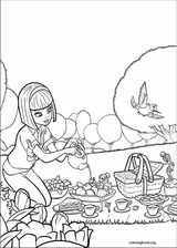 Barbie Presents: Thumbelina coloring page (025)