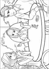 Barbie Presents: Thumbelina coloring page (026)