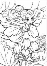 Barbie Presents: Thumbelina coloring page (027)