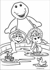 Barney & Friends coloring page (001)