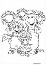 Barney & Friends coloring page (006)