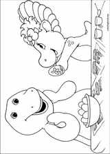 Barney & Friends coloring page (010)