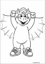 Barney & Friends coloring page (011)
