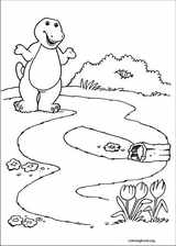 Barney & Friends coloring page (015)