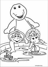 Barney & Friends coloring page (016)