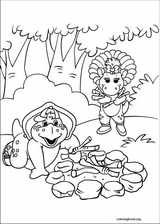 Barney & Friends coloring page (020)