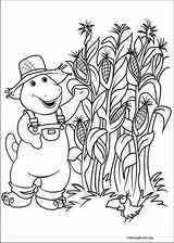 Barney & Friends coloring page (021)