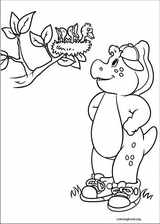 Barney & Friends coloring page (023)