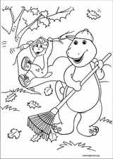 Barney & Friends coloring page (024)