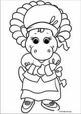 Barney & Friends coloring page (028)