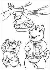 Barney & Friends coloring page (029)