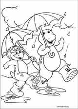 Barney & Friends coloring page (038)