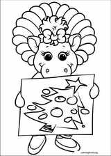Barney & Friends coloring page (040)