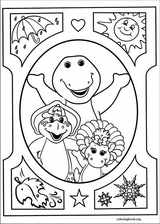 Barney & Friends coloring page (041)