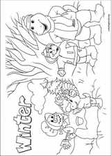 Barney & Friends coloring page (042)