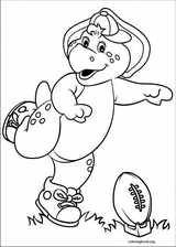 Barney & Friends coloring page (044)