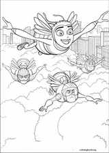 Bee Movie coloring page (002)