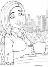 Bee Movie coloring page (005)