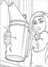 Bee Movie coloring page (008)