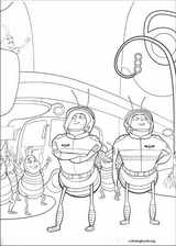 Bee Movie coloring page (010)