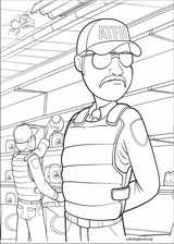 Bee Movie coloring page (012)