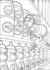 Bee Movie coloring page (021)