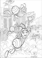Bee Movie coloring page (030)