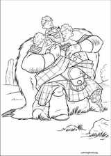 Brave coloring page (006)