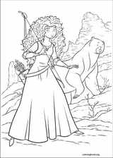 Brave coloring page (012)