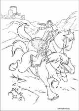 Brave coloring page (013)