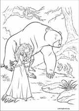 Brave coloring page (015)