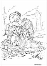 Brave coloring page (019)