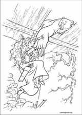 Brave coloring page (020)