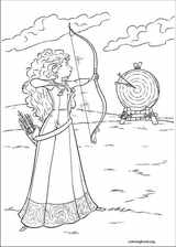 Brave coloring page (028)