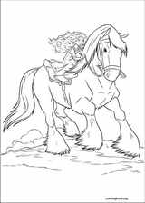 Brave coloring page (029)