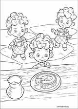 Brave coloring page (033)