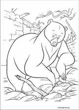 Brave coloring page (034)