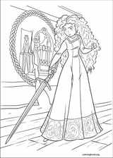 Brave coloring page (035)
