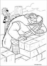 Brave coloring page (044)