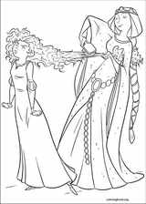 Brave coloring page (048)