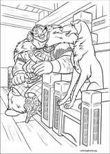 Brave coloring page (049)
