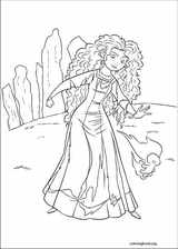 Brave coloring page (050)