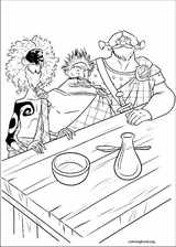 Brave coloring page (052)