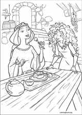 Brave coloring page (058)