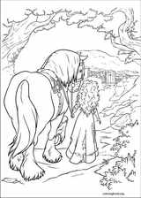 Brave coloring page (059)