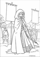 Brave coloring page (062)